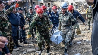 VIVA Militer: Proses evakuasi jenazah warga sipil Azerbaijan