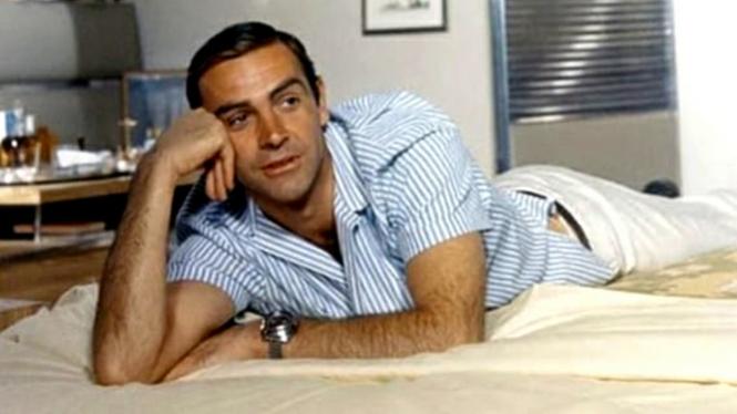 Aktor pemeran pertama James Bond, Sean Connery