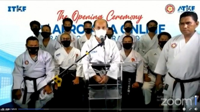Opening Ceremony 2nd Afro-Asia Online Traditional Karate Open 2020