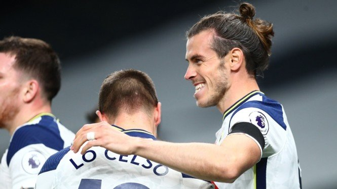 Gareth Bale di laga Tottenham vs Brighton