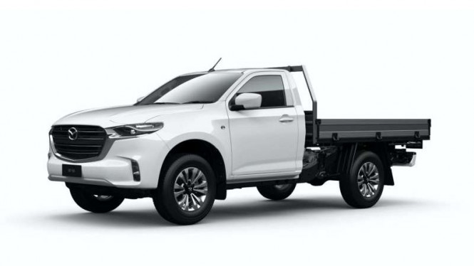 Mobil pikap Mazda BT-50 baru versi Australia