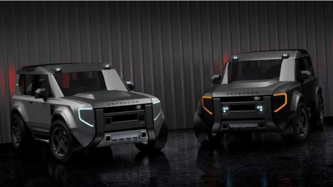 Rekaan desain Land Rover 'Baby' Defender