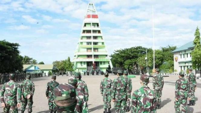 VIVA Militer: Markas Komando Resort Militer 161 Wira Sakti.