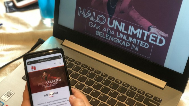 Paket Halo Unlimited Telkomsel.