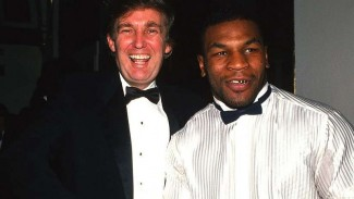 Mike Tyson muda ketika bersama Donald Trump