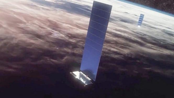 SpaceX Starlink satellites.