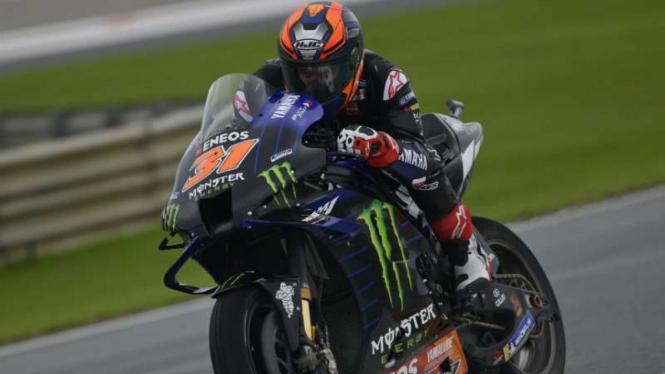 Pembalap Monster Energy Yamaha, Garrett Gerloff.