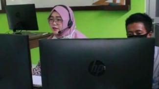 Guru saat PJJ online