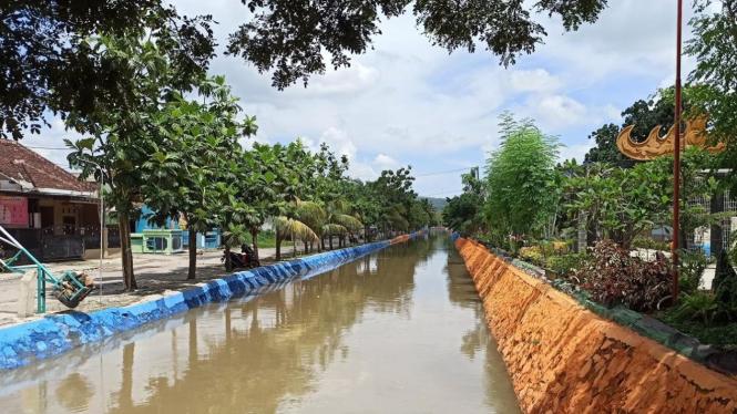 bri bersih sungai sukarame