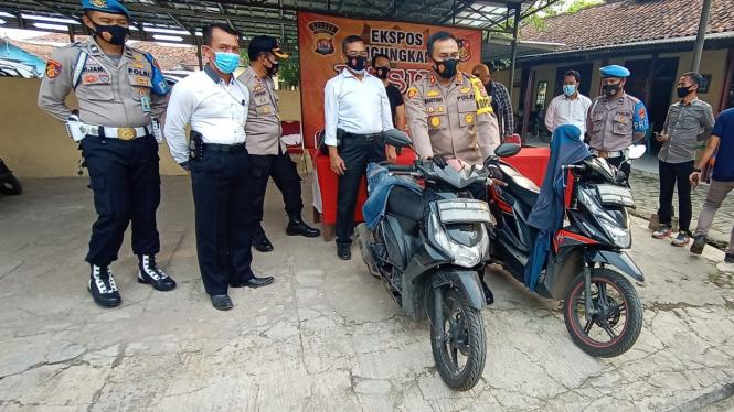 Polisi Ringkus Pelaku Pembobol ATM di Serang Banten