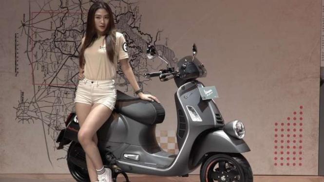 Motor baru Vespa Sio Giorni resmi meluncur di Indonesia