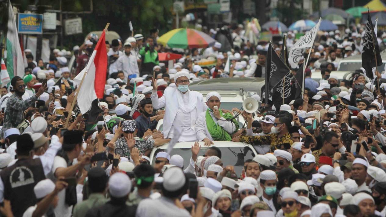Habib Rizieq Shihab kembali ke Tanah Air