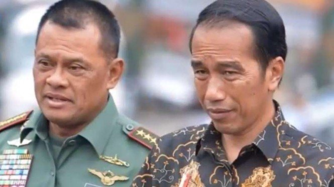 VIVA Militer: Presiden Joko Widodo dan Jenderal TNI Gatot Nurmantyo