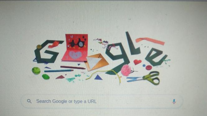 Google Doodle Hari Ayah Nasional.