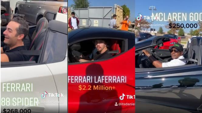 Pekerjaan para pemilik mobil mewah