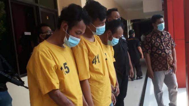 Tiga Pelaku Perampas HP di Penjaringan Jakarta Utara yang Viral di Medsos