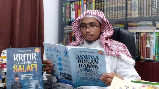 Ditangkap Karena Hina Habib Luthfi Siapa Ustaz Maaher Alias Soni