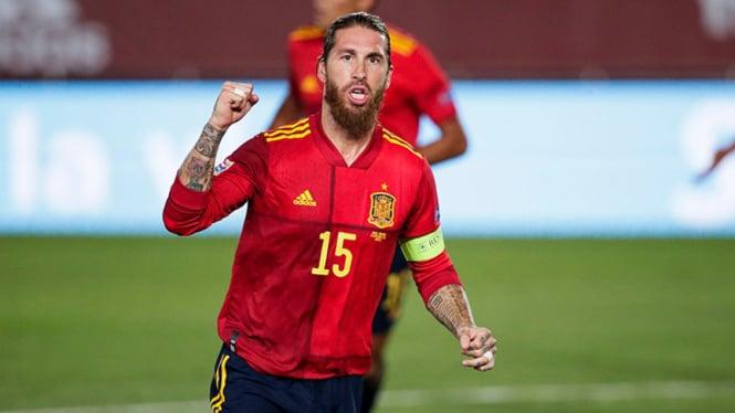 Bek Timnas Spanyol, Sergio Ramos.