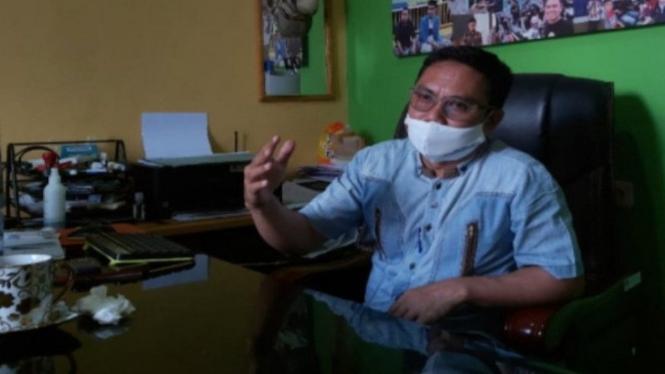 Anggota KPU Mamuju Ahmad Amran Nur (antara)