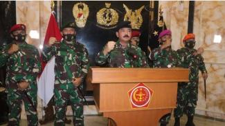 VIVA Militer : Panglima TNI Marsekal Hadi Tjahjanto