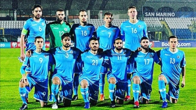Skuad Timnas San Marino.