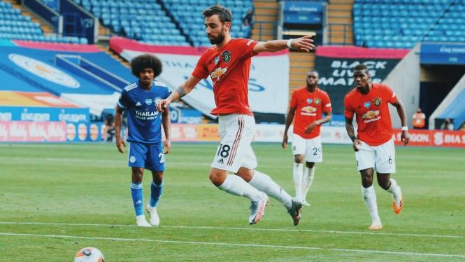 Gelandang Mancester United, Bruno Fernandes