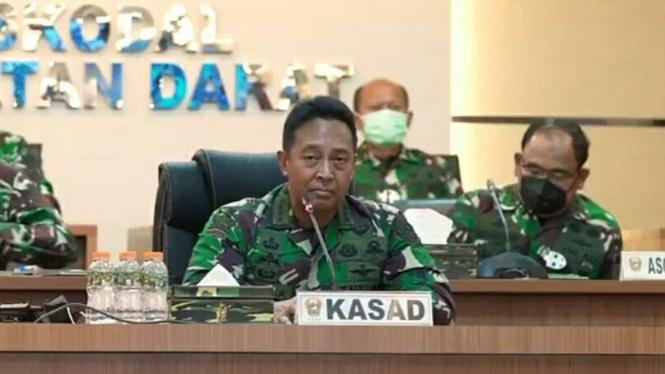 VIVA Militer : Kasad Jenderal TNI Andika Perkasa