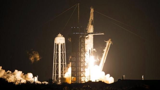 Peluncuran SpaceX.