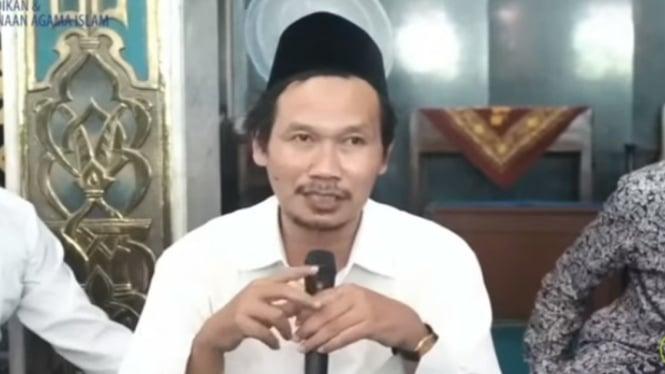 Rais Syuriah PBNU KH Ahmad Bahauddin Nursalim atau Gus Baha