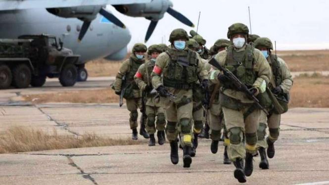 VIVA Militer: Pasukan Angkatan Bersenjata Federasi Rusia (VSRF)