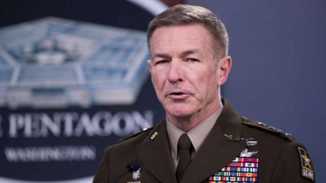VIVA Militer: Kepala Staf Angkatan Darat AS, Jenderal James McConville
