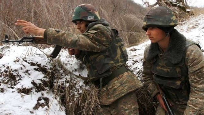 VIVA Militer: Tentara pemberontak Pasukan Pertahanan Artsakh (Nagorno-Karabakh)