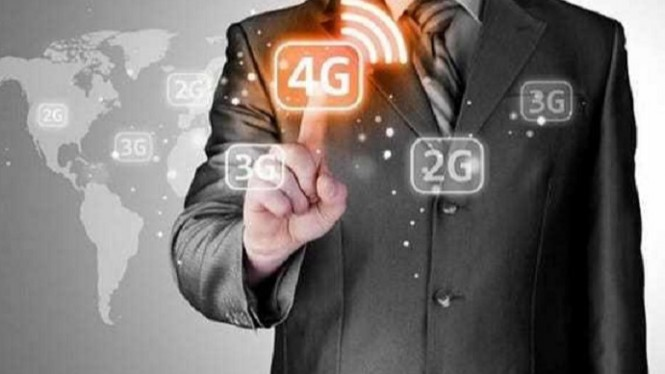 Jaringan 4G.