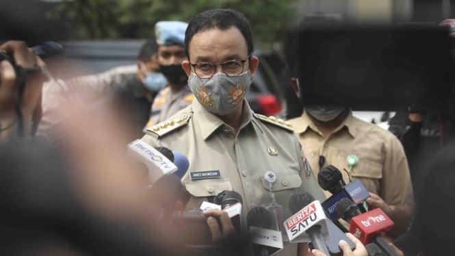 Anies Baswedan jalani pemeriksaan di Polda Metro Jaya