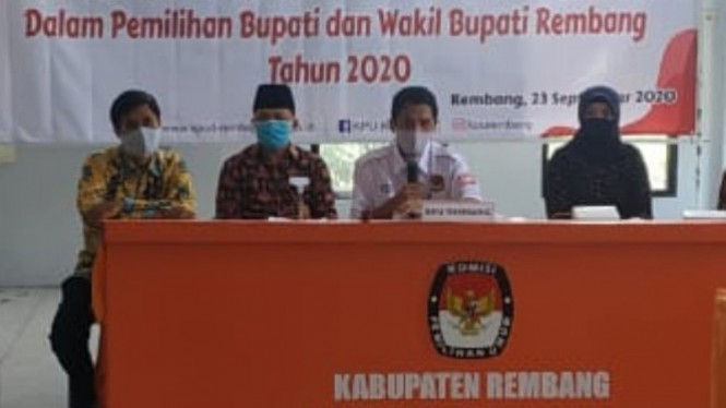 KPU Rembang (antara)