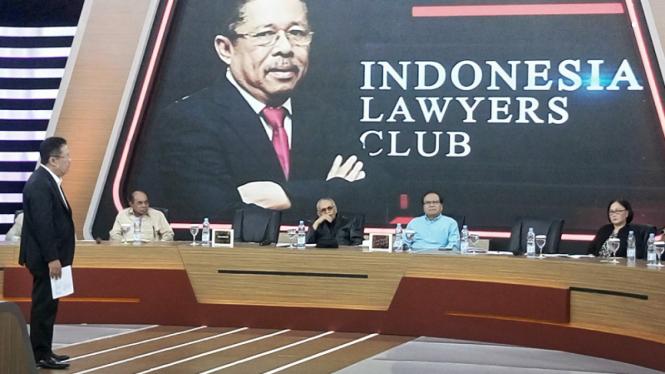 Program acara Indonesia Lawyers Club/ILC tvOne (ilustrasi)