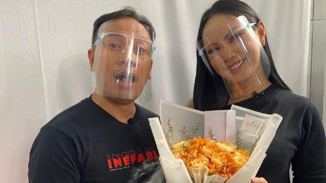 Vicky Prasetyo dan Kalina Ocktaranny.