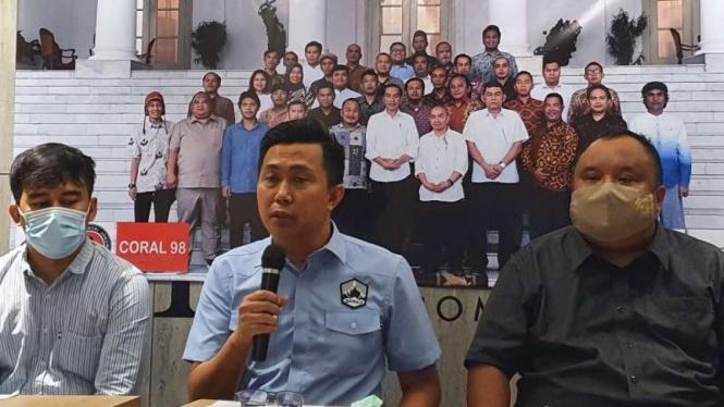 Koordinator Fostrab Jamaluddin Malik
