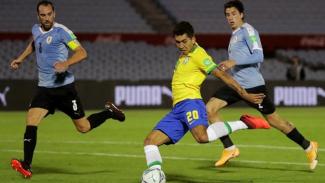 Timnas Brasil Menang Atas Uruguay, Edinson Cavani Kartu Merah