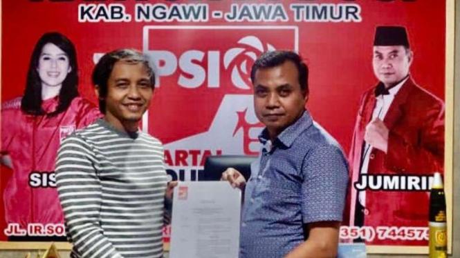 PSI resmi dukung kotak kosong pada Pilkada Ngawi