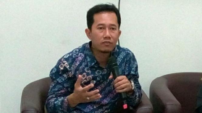 Ketua KPU Sleman Trapsi Haryadi   (antara)