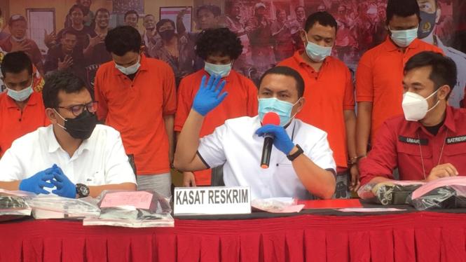 Polisi gadungan diringkus Satreskrim Polres Jakarta Selatan