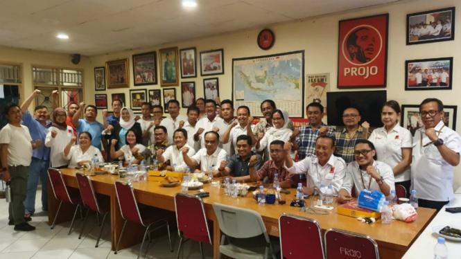 Relawan Projo dukung Eri Cahyadi di Pilkada Surabaya
