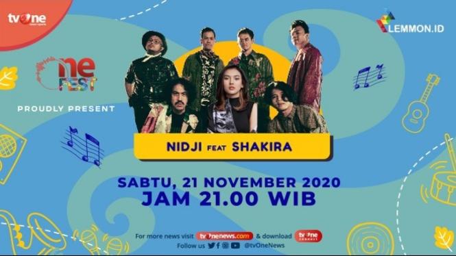 One Fest tvOne, Sabtu (21/11)