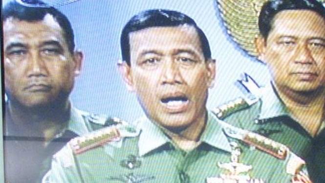 VIVA Militer: Jenderal TNI Wiranto dan Letjen TNI Susilo Bambang Yudhoyono