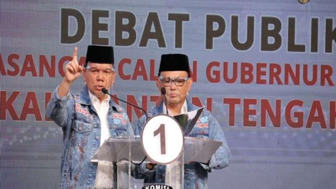 Cagub dan Cawagub Kalteng, Ben Bahat-Ujang Iskandar