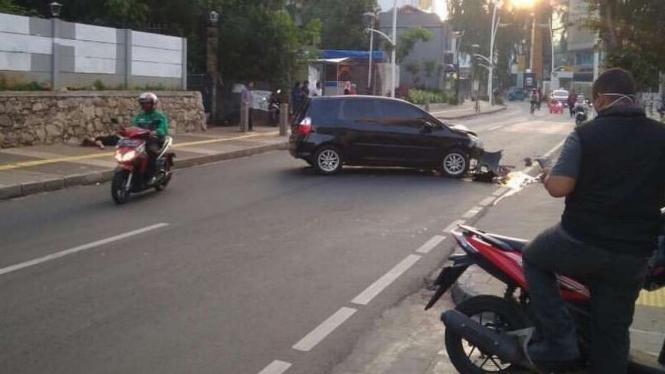 Kecelakaan di Kemang, Jakarta Selatan