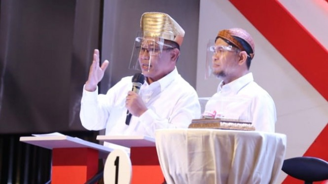 Calon wali kota dan wakil wali kota Medan Akhyar Nasution-Salman Alfarisi.