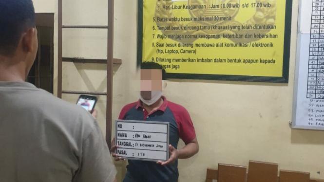 Mantan Ketua FPI Banda Aceh Ditangkap Polisi.