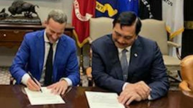 Lembaga keuangan AS, US IDFC komitmen investasi Rp28 triliun lewat SWF Indonesia